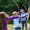 Archery at the Chateau, Normany