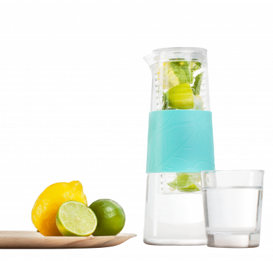Infruition fruit infusing home jug