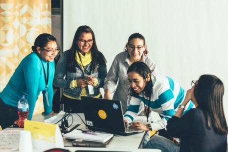 Woman only hackathon in Mexico City that aims to position woman in tech roles with a 36 hour hackathon.