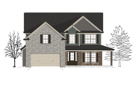 Black Forest Community The Oak Floor Plan