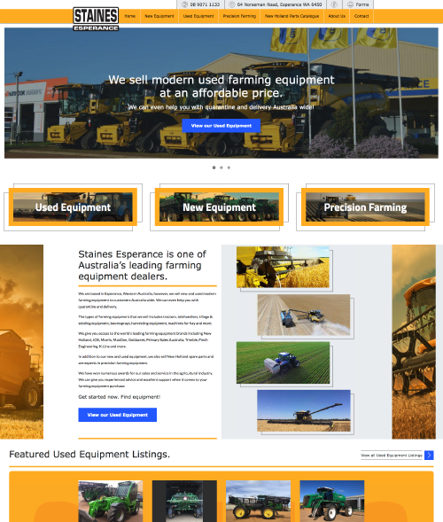 Staines Esperance Website