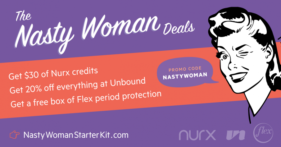 Nasty Woman deals promo code: nastywoman