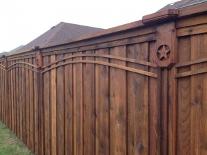 wood fence builders highland park texas