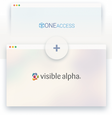 ONEaccess has now joined Visible Alpha