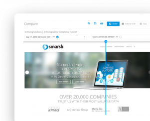 Smarsh - Archiving & compliance solutions