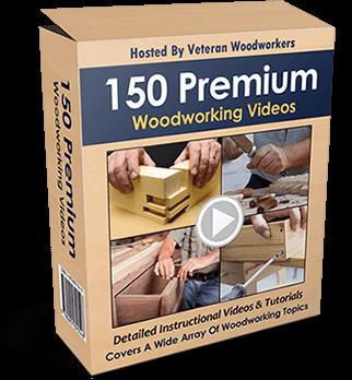 150 premium-Woodworking videos