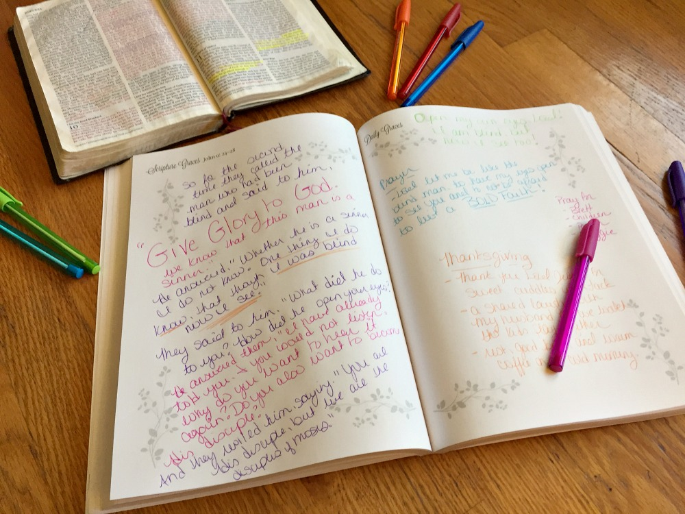 Are you ready for God's Word to become alive and active in a way you have never experienced before? This quiet time tool is for you! A daily devotional journal that will help you spend time reading and engaging the Bible in just a few minutes each day. Grow in greater understanding by writing the Word and slowly move through the ministry of Jesus' life on earth through Scripture Graces, The Gospel of John Edition.