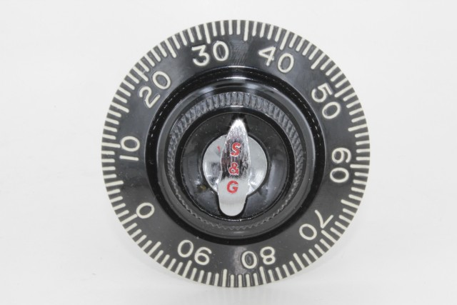 S&G Group1R Dial Combination Lock