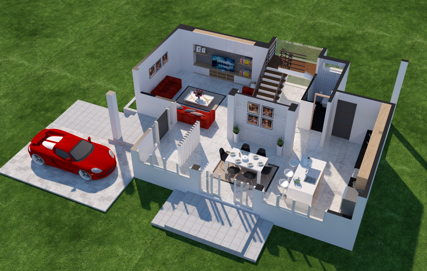 3D Floor Plan Design Service For Real Estate Marketing