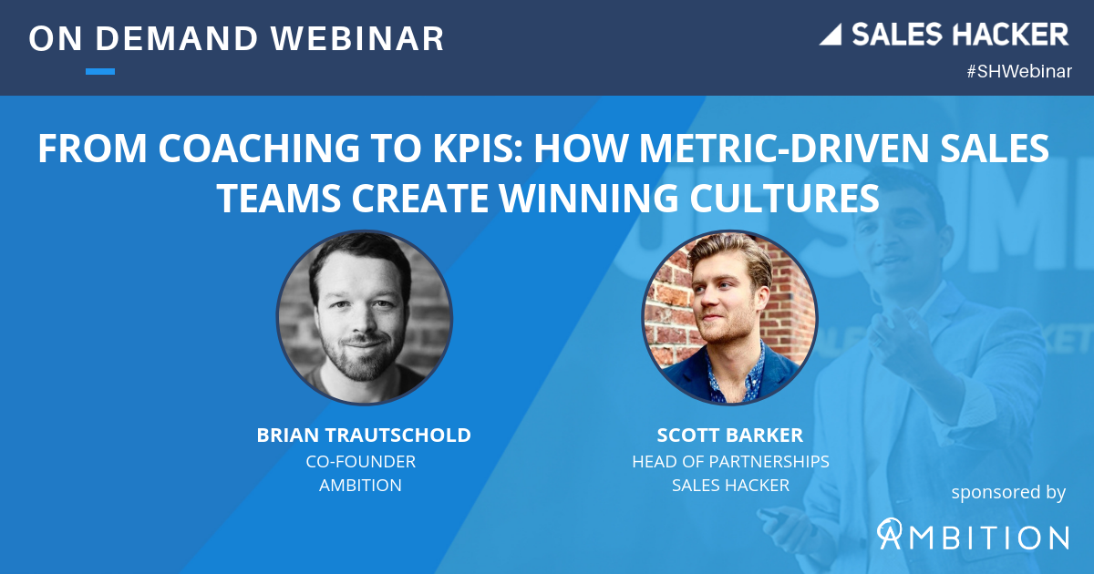 From Coaching To KPIs How Metric Driven Sales Teams Create Winning