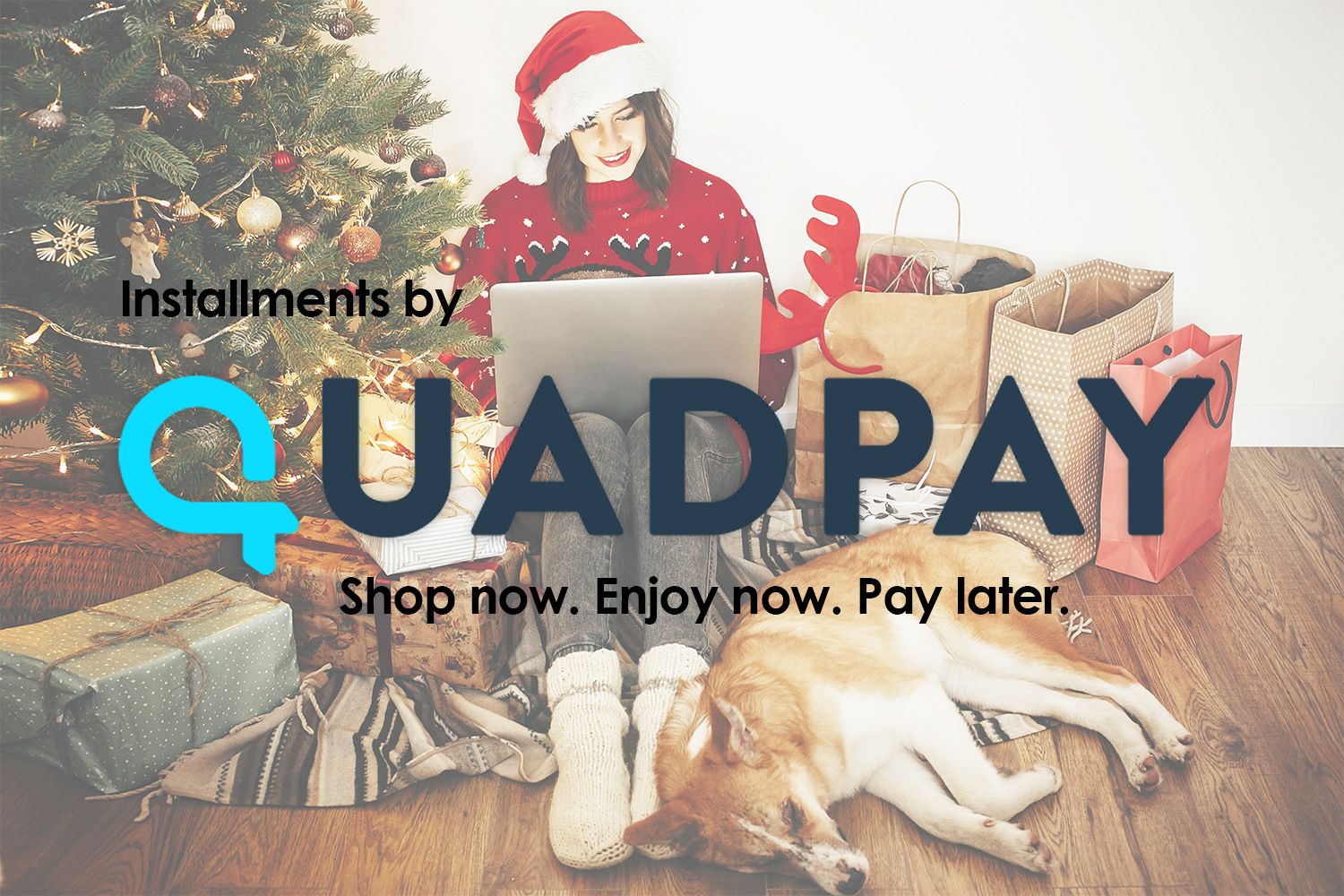 QuadPay for Dog is Good