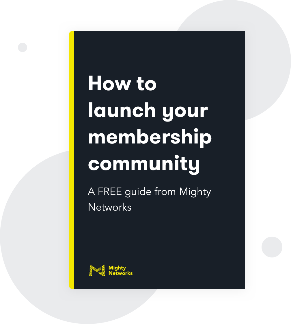 How to Create a Membership Site with Mighty Networks