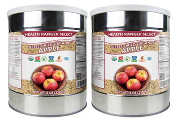 Freeze Dried Organic Apple 3/8 Diced