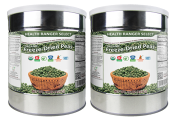Freeze Dried Organic Peas
