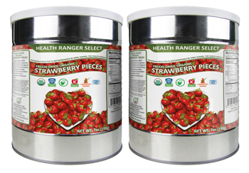Freeze-Dried Organic Strawberries