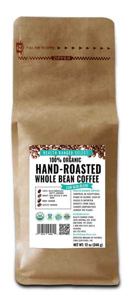 Low Acid Blend Whole Bean Coffee