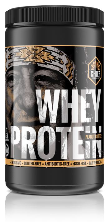 Chief Organics Peanut Butter Whey Protein