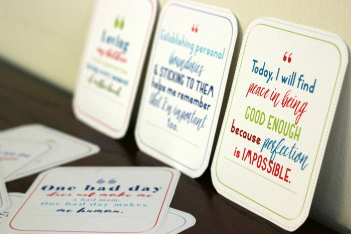 31 Days of Printable Affirmations for Moms