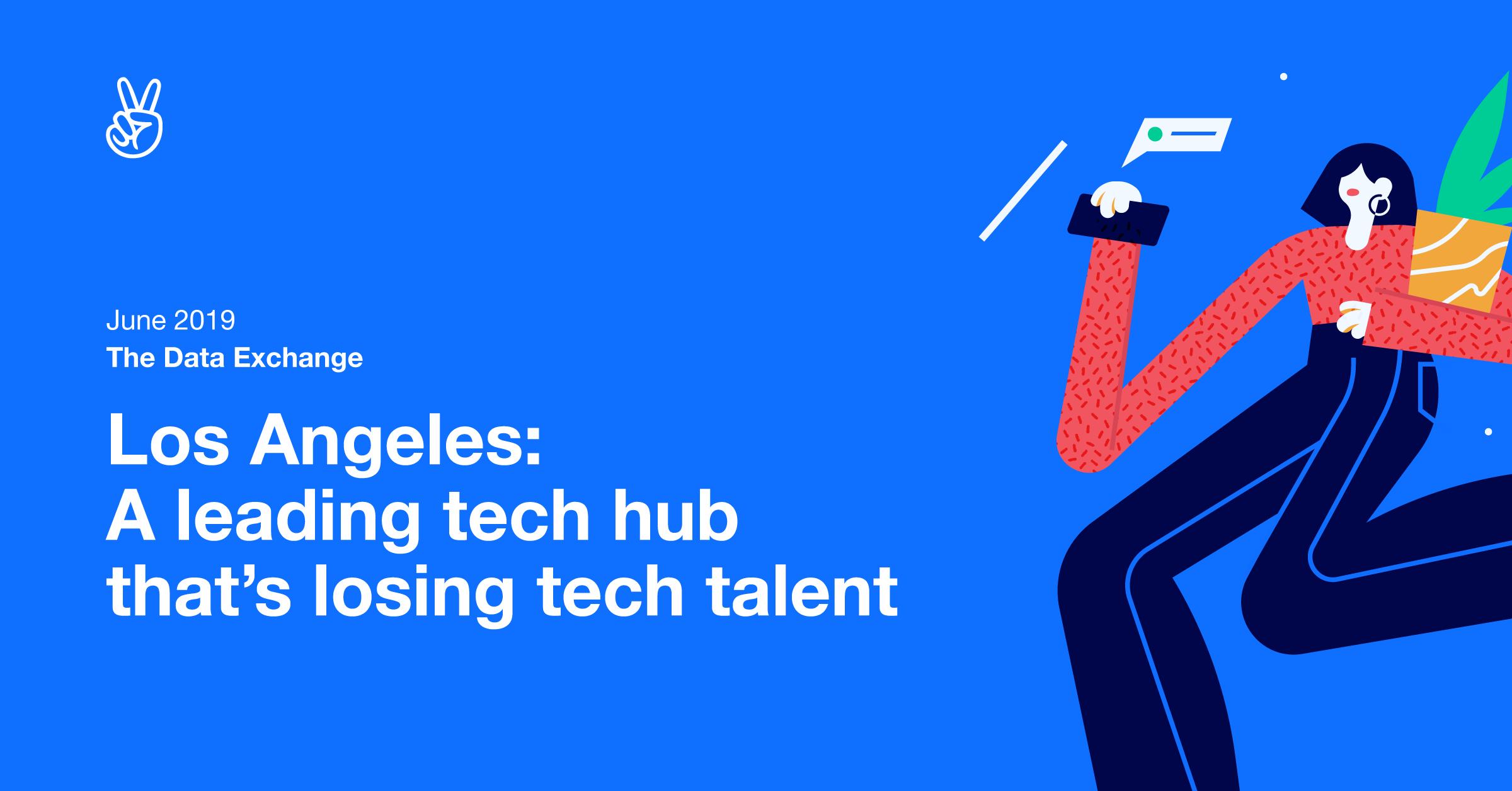 LA: A leading tech hub that's losing tech talent