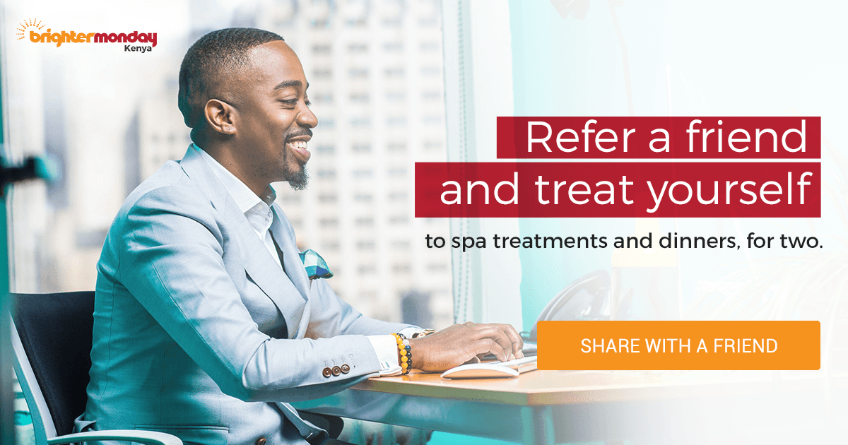Refer a Fellow Professional | BrighterMonday Kenya