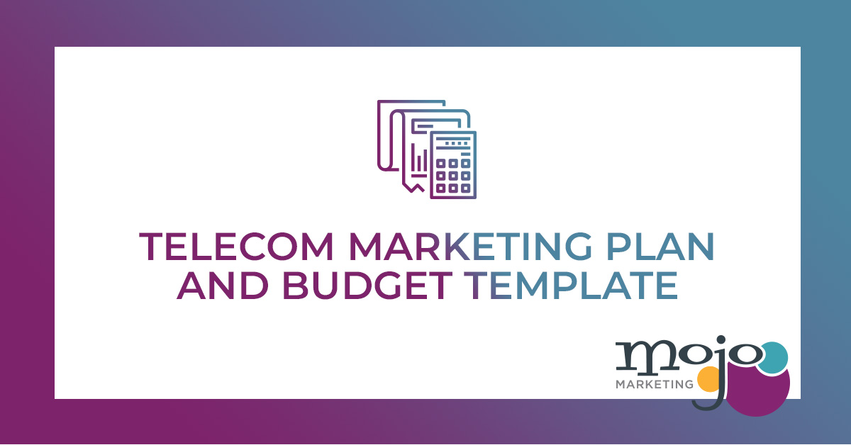 Free Download Your Telecom Marketing Plan Budget Template Mojo