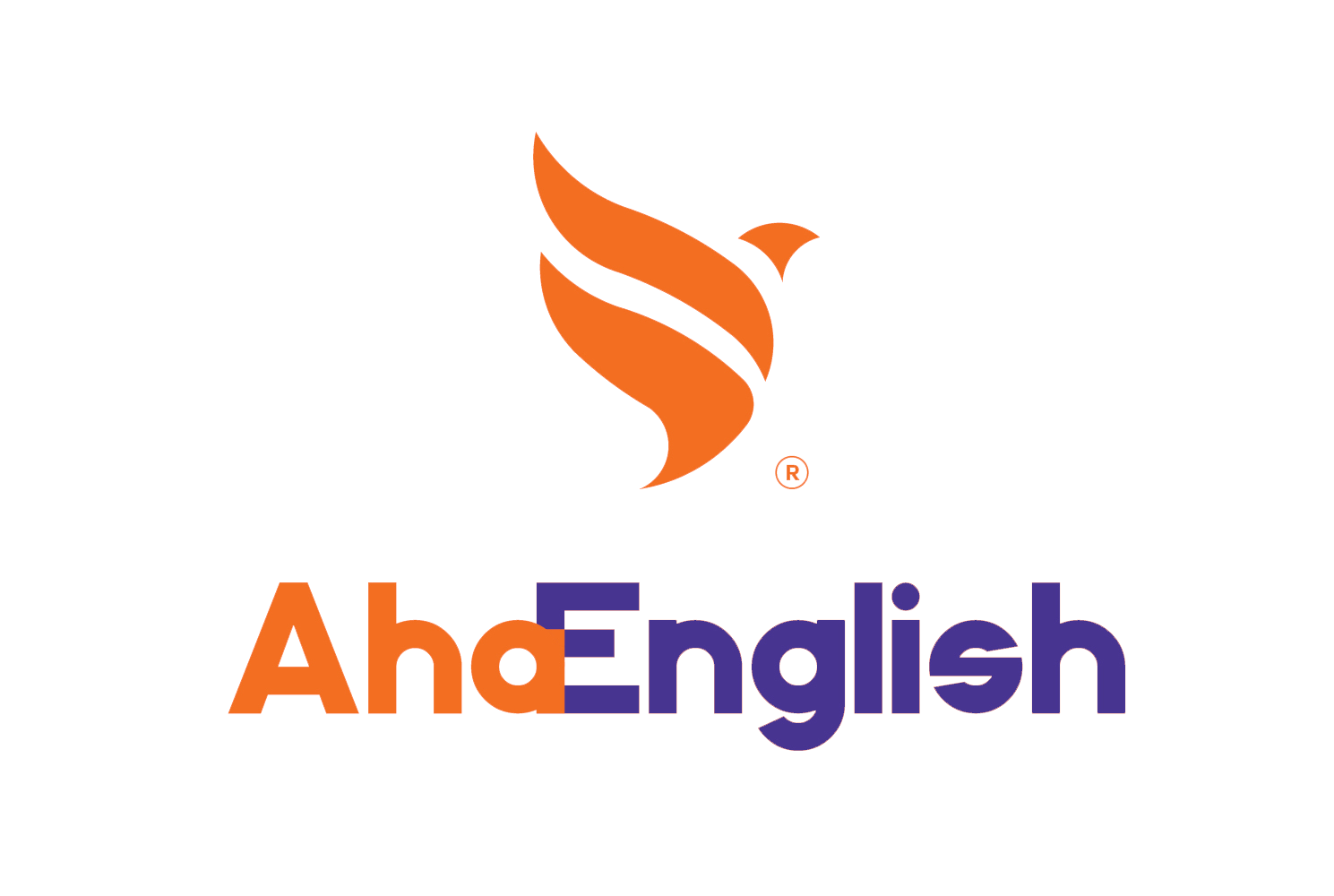 Logo Aha English