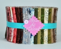 Jelly roll Mitsuko - quilt roll style japonais