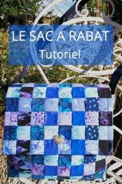 Quilt et patchwork brin de talent tutoriel patchwork confection sac rabat partir des quilt rolls fandeluxe Image collections