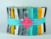 Quilt et patchwork brin de talent jelly roll moderne et color pour quilt fandeluxe Image collections