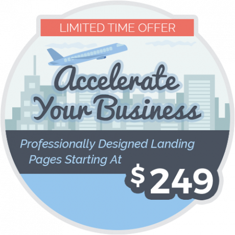 Offer: Professional Landing Pages from $249