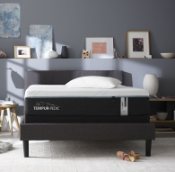 Full tempur-pedic mattress