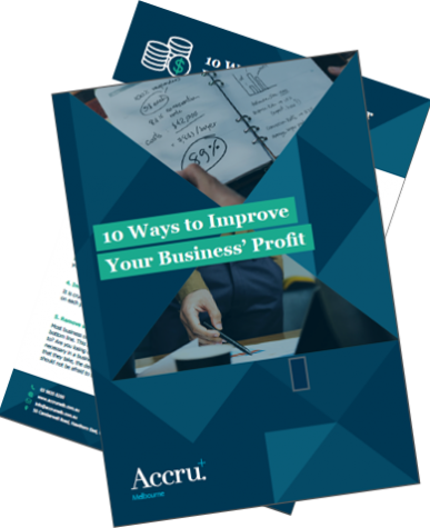 10 ways to improve business profit - document cover
