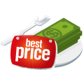 Best Price icon regarding catering.