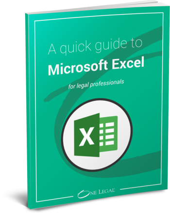 Excel for legal professionals