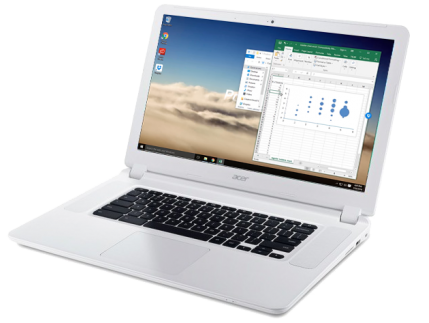 Chromebook_with Paperspace running Windows