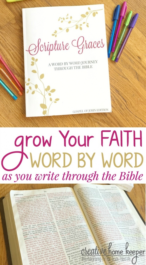 Scripture Graces: A Word By Word Journey Through the Bible