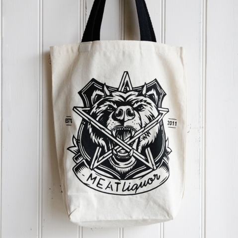 Bags For Life C01/BH Meat Liquor 5oz Printed Tote