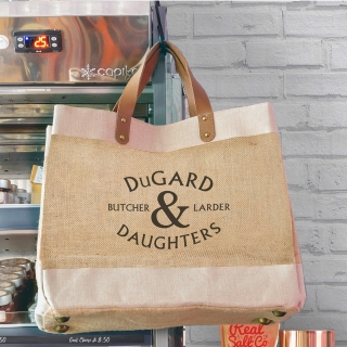 Dugard & Daughters - JSLH Luxury Printed Shopper