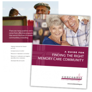 Concordia memory care resource guide
