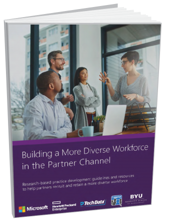 Building a more diverse workforce in the partner channel - cover art
