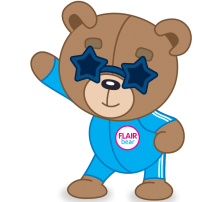 Flair Bear