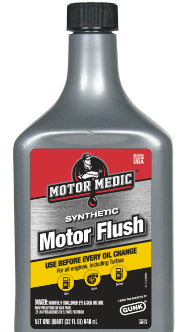 Motor Medic | Motor Flush | Get More Out With Every Oil Change