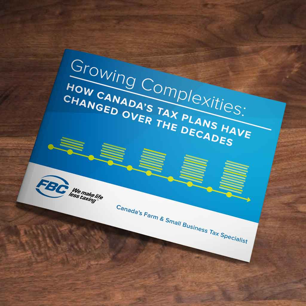 eBook Growing Complexities CRA FBC Canada Tax