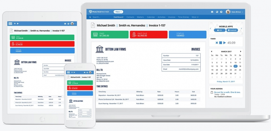 legal billing software