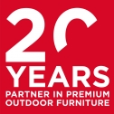 20 years partner in luxury outdoor furniture