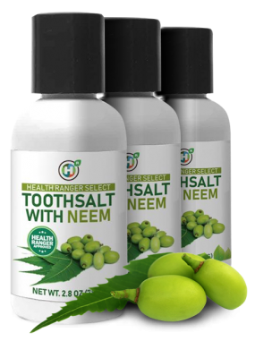 health ranger select toothsalt with neem