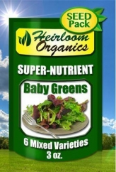 Mixed Baby Greens Pack