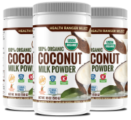 hrs organic coconut milk powder 3 pack