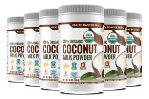 hrs organic coconut milk powder 6 pack