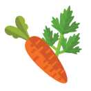 carrot and parsely